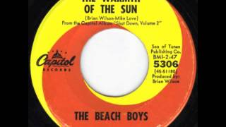 warmth of the sun, the beach boys