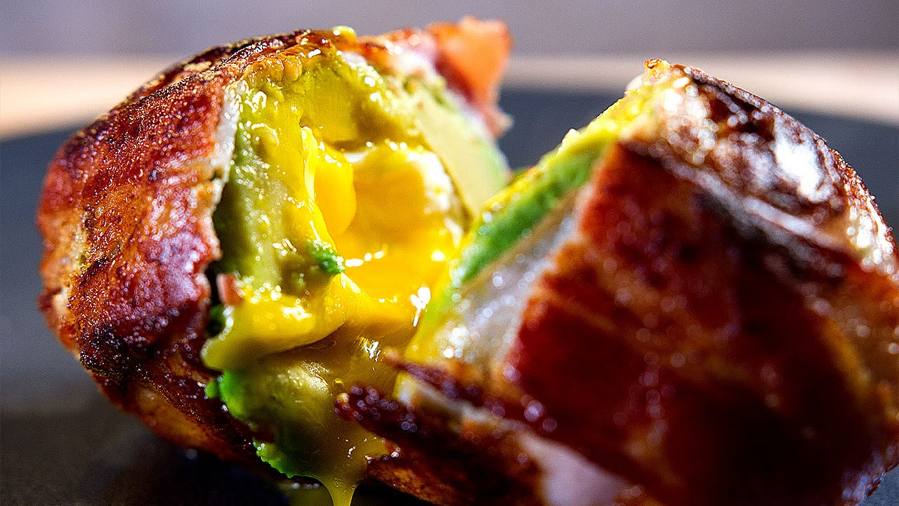 recipe: bacon wrapped burger pinterest [39]