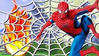 Человек паук спасает лес. #Мультики про #машинки с игрушками - Новые - мультфильмы для детей - 2017