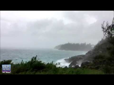 Watch Hill Park As Hurricane Joaquin Approaches Bermuda, Oct 3 2015