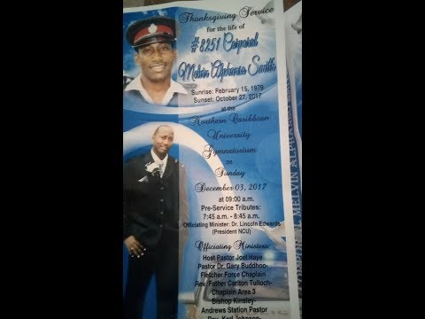 Cpl. Melvin Smith Funeral Service