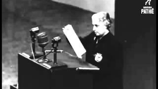 UN Meeting In Paris 1948: Ahmadiyya Muslim Ch Zafrullah Khan Representing Pakistan