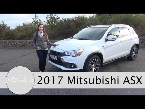 2017 Mitsubishi ASX 1.6 DI-D (Modelljahr 2017) Test / Review / Fahrbericht - Autophorie