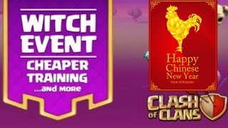 NEW LUNAR NEW YEAR WITCH EVENT | Clash of Clans