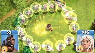 Clash Of Clans - NEW MAX LEVEL IMMORTAL HOG RIDERS!! INSANE STRATEGY GAME PLAY!