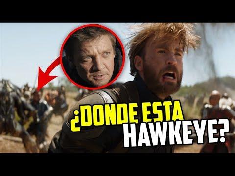 ¿Porque Hawkeye no aparece en Infinity War?