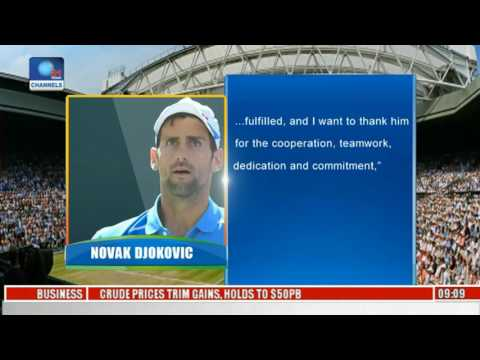 International Tennis: Djokovic Splits With Coach Becker
