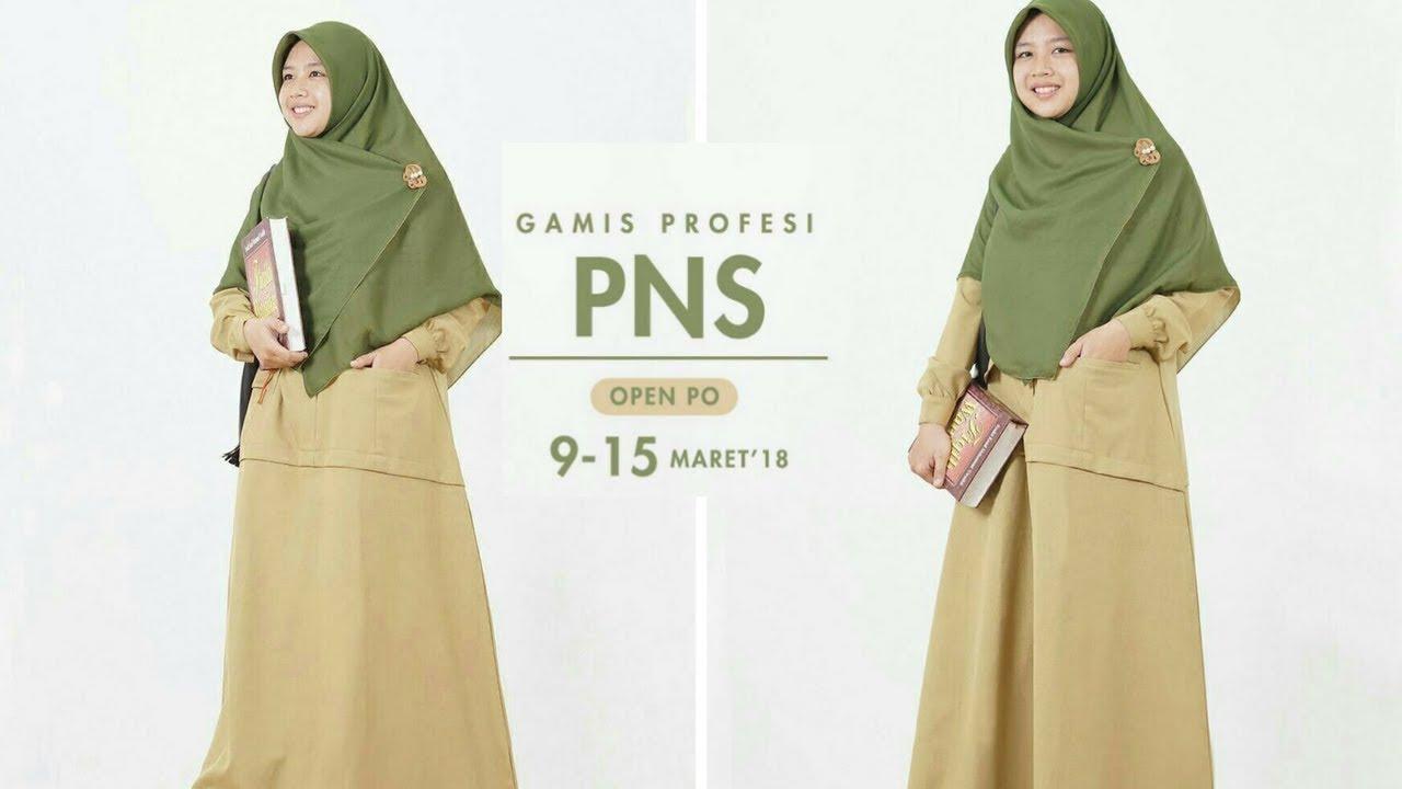 Gamis Profesi PNS by Hijab Alila
