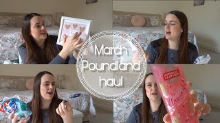 POUNDLAND HAUL | MARCH '19 | MOTHERS DAY, EASTER & MORE