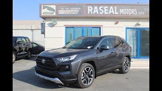 Toyota RAV4 Adventure 2.5L Petrol A/T AWD 2019 Model - Grey