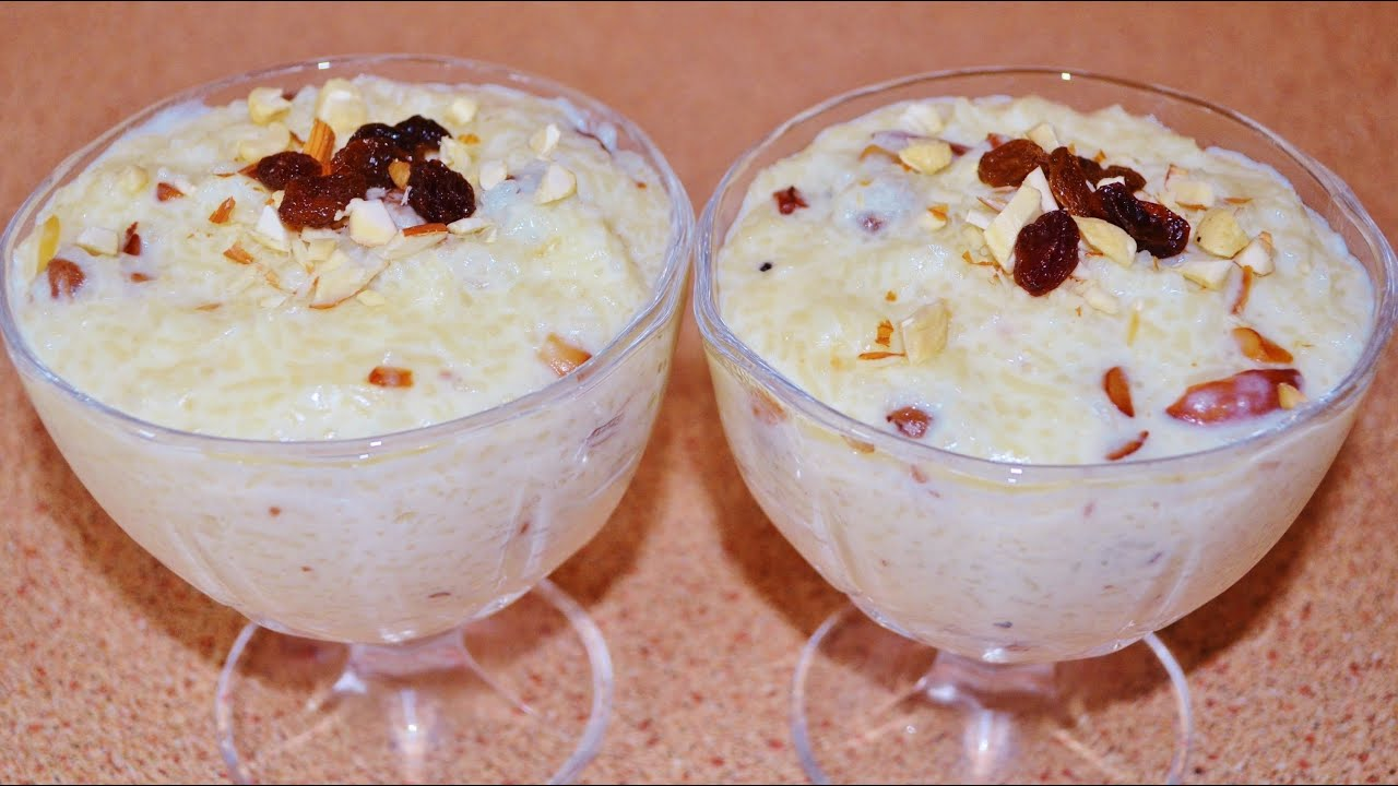 Kheer recipe indian rice pudding youtube forumfinder Images