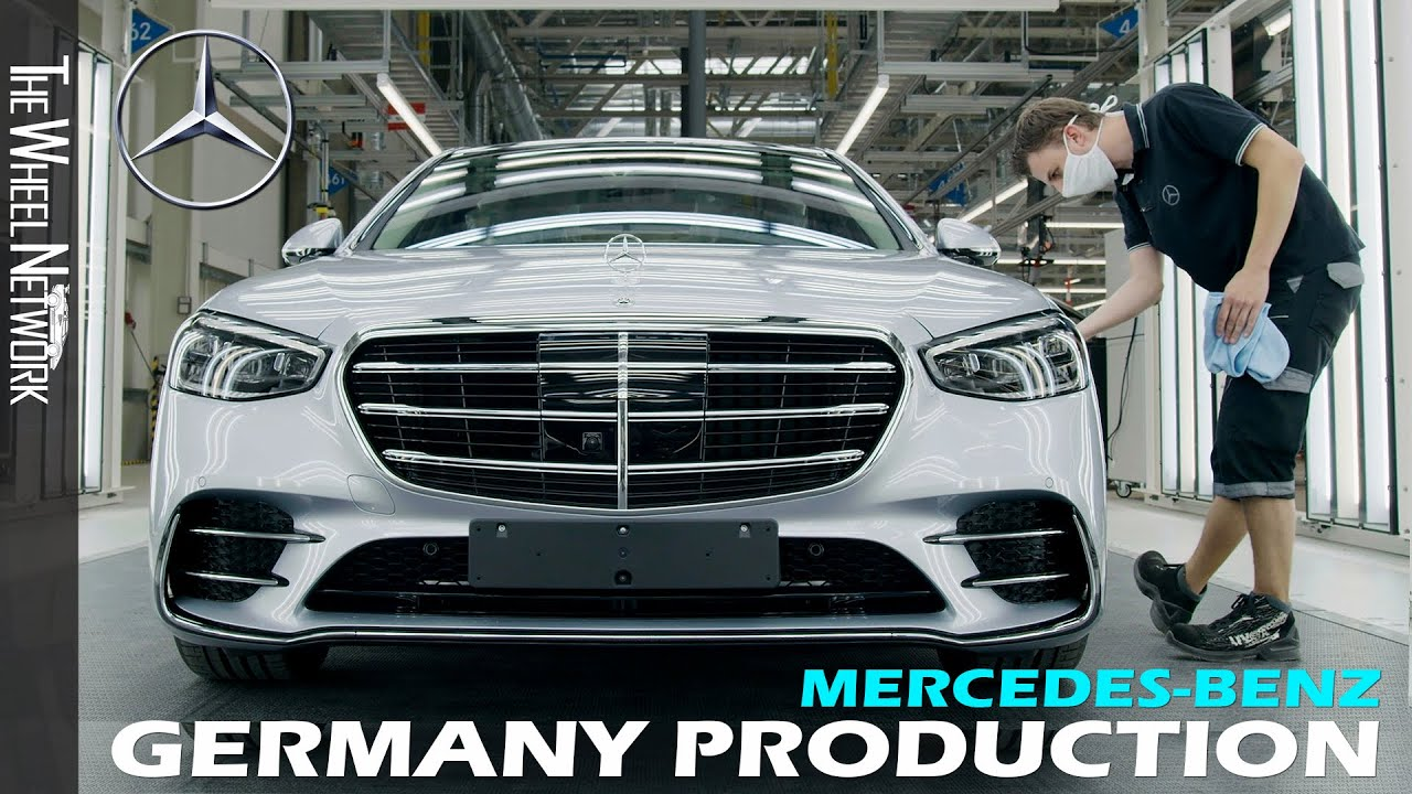 Mercedes Benz Production In Germany Youtube