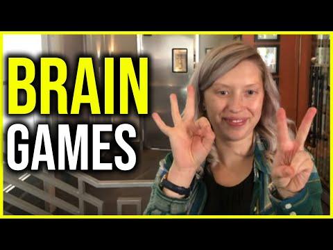 6 Fun BRAIN GAMES In 90 Seconds!!