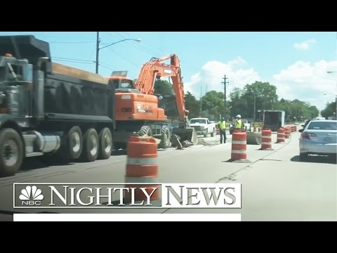 Poor U.S. Road Conditions Put a Strain on Motorists' Wallets | NBC Nightly News