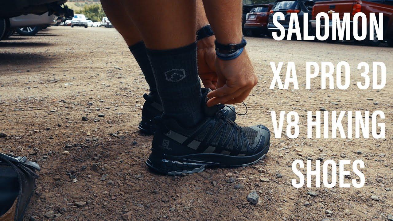 salomon xa pro 3d hiking shoes