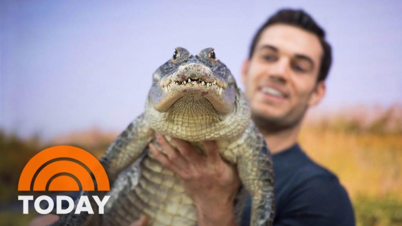 sexiest veterinarian evan antin brings exotic wildlife to studio 1a