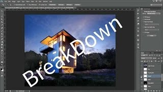 Post Production Breakdown [ Glen Lake Tower House ]