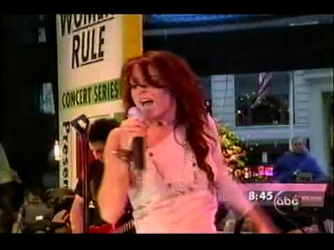 lindsay lohan - rumors (live on good morning america)