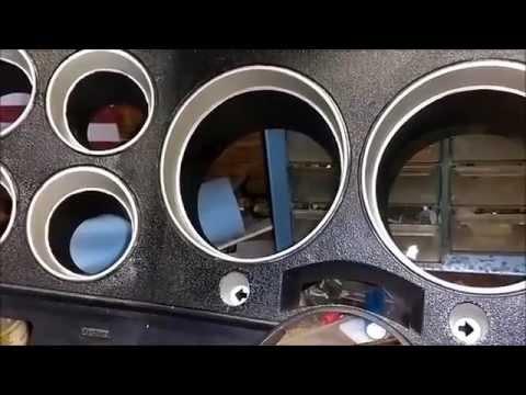"1986 Chevrolet Scottsdale:""dash instrument panel bezel painting"""