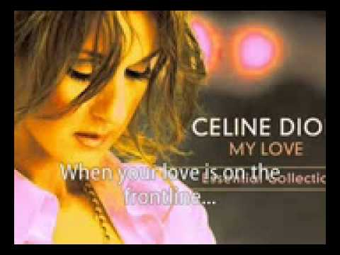 Celine Dion   There Comes A Time KARAOKE INSTRUMENTAL My Love    Essential Collection)