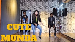 CUTE MUNDA | SHERRY MANN |Lyrical Bhangra | bhangra choreography THE DANCE MAFIA