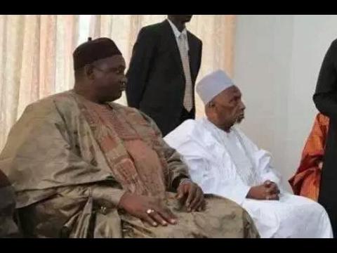 President Barrow Pays A Visit To Gambia's First President Sir Dawda Jawara