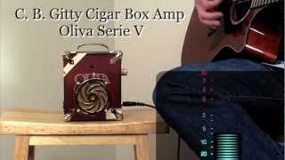C. B. Gitty Cigar Box Guitar Amplifier - All-wood Oliva Serie V