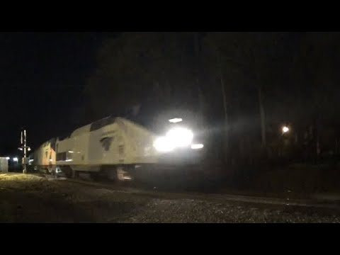 The Amtrak Crescent #20 With Awesome Crew! Mableton,Ga 03-18-2020©
