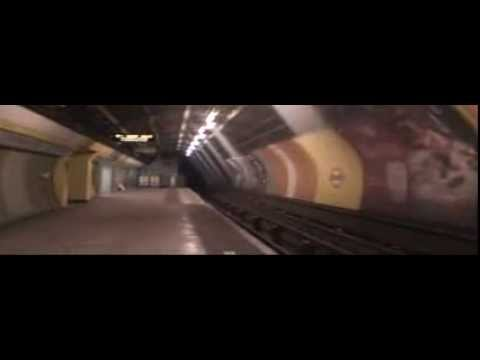 Taking a Special Look at the disused Jubilee Line platforms at Charing Cross.