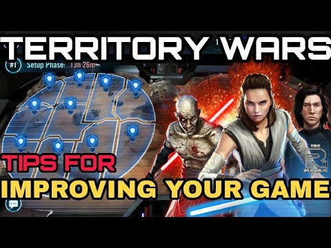 Star Wars Galaxy Of Heroes TW TIPS FOR IMPROVING YOUR GAME