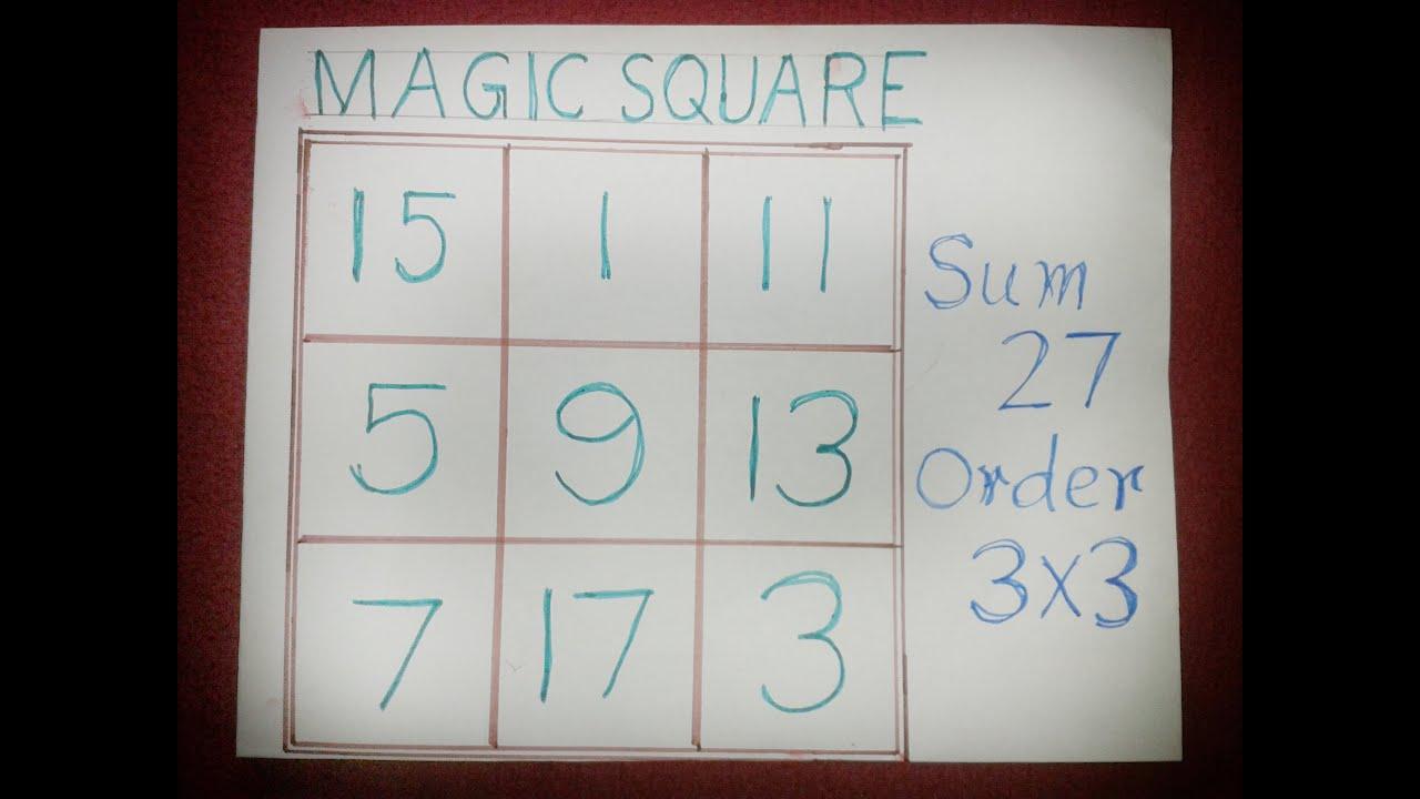 6x6 Magic Square Solver