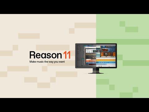 Reason 11 - Make music the way you want