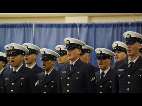 Coast Guard Graduation Ceremony, Company Mike-184