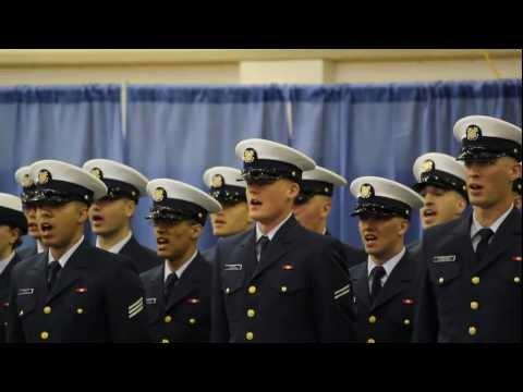 Coast Guard Graduation Ceremony, Company Mike-184