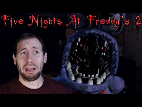 Five Nights At Freddy's 2 Demo Gameplay Part 2: Night 2 and Night 3 Bring Back Old Friends...