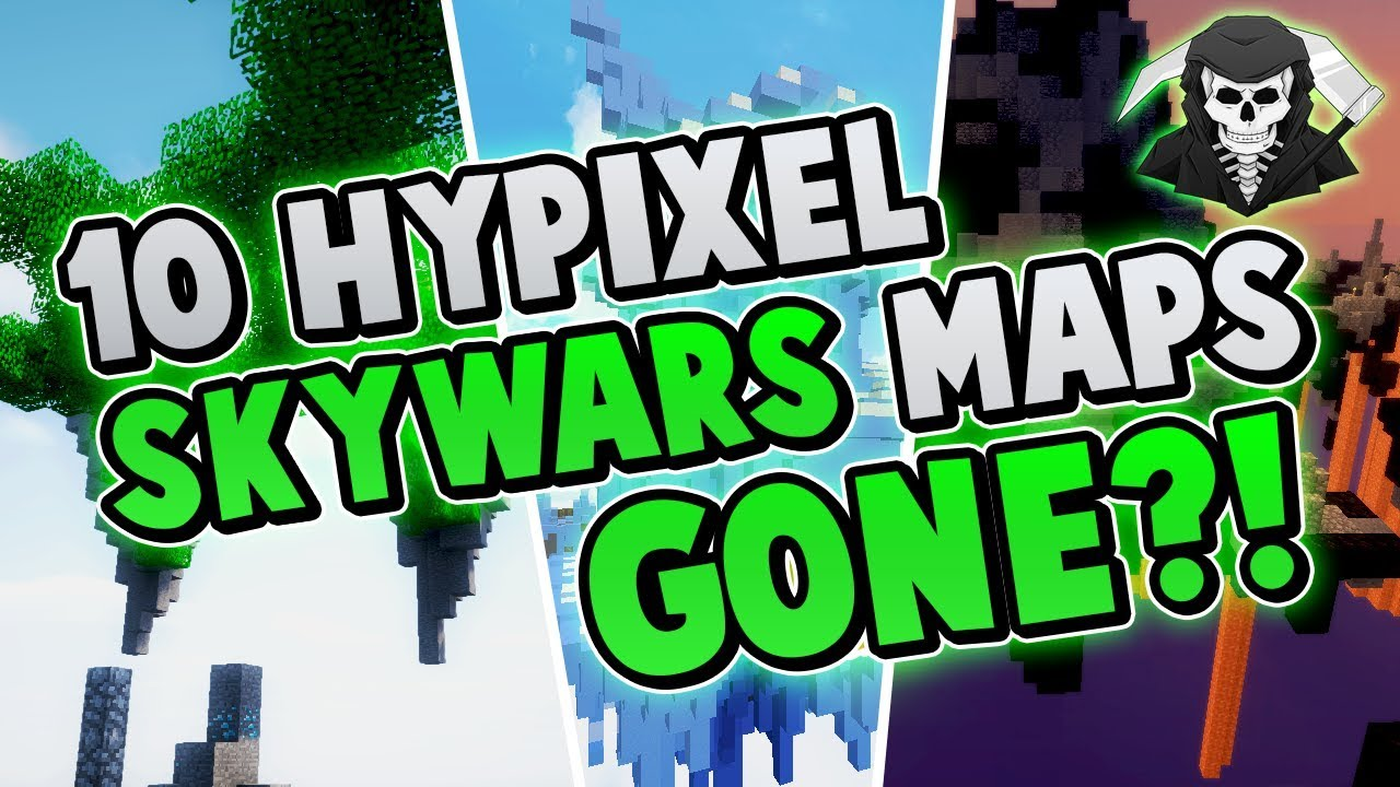 10 Hypixel Skywars Maps That You Didn't Know Got REMOVED!