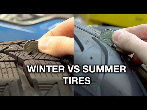 Winter Vs Summer Tires - What's The Difference?