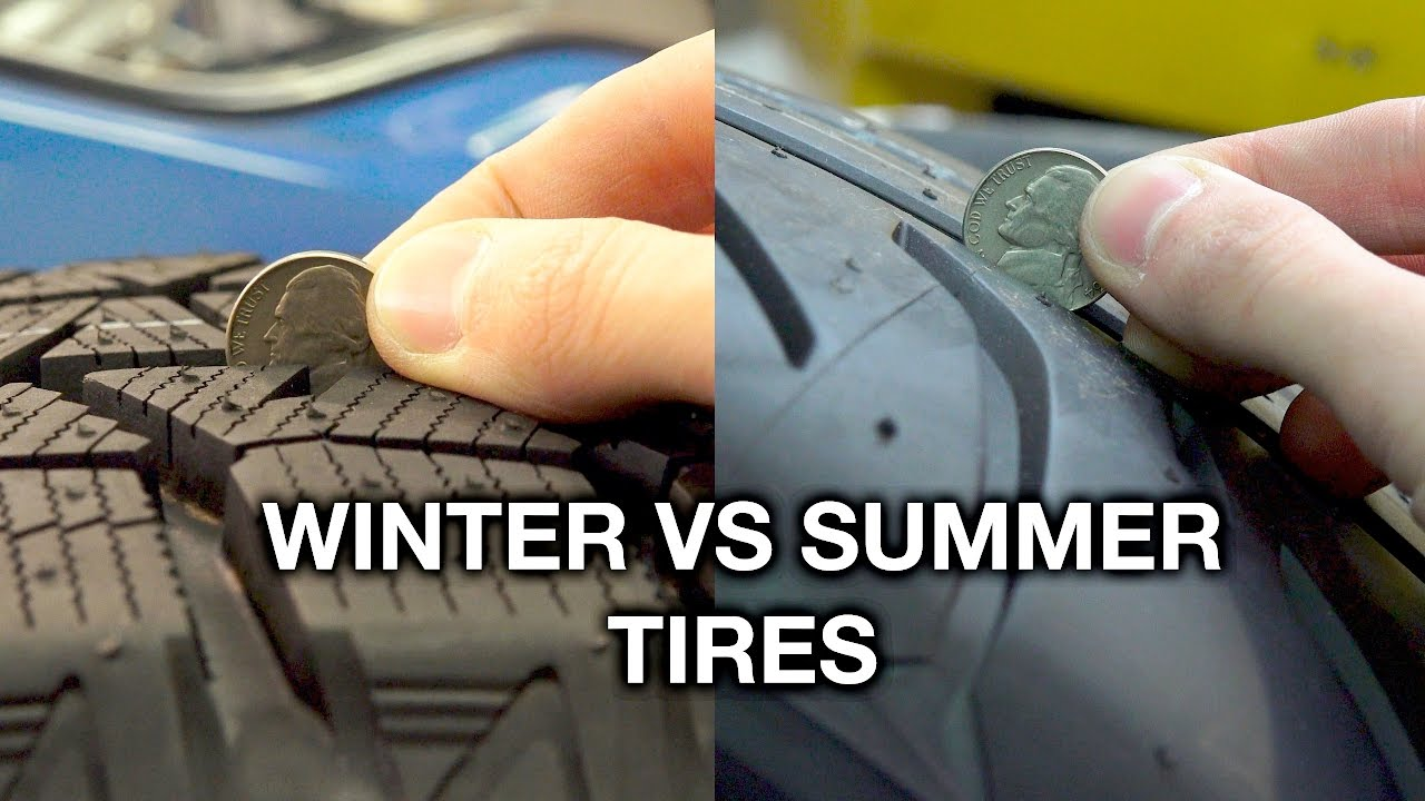 Summer Tires Vs All Season >> Winter Vs Summer Tires What S The Difference