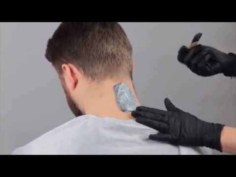 Barber Pro und Italwax Pour Homme Tutorial Man Depilation