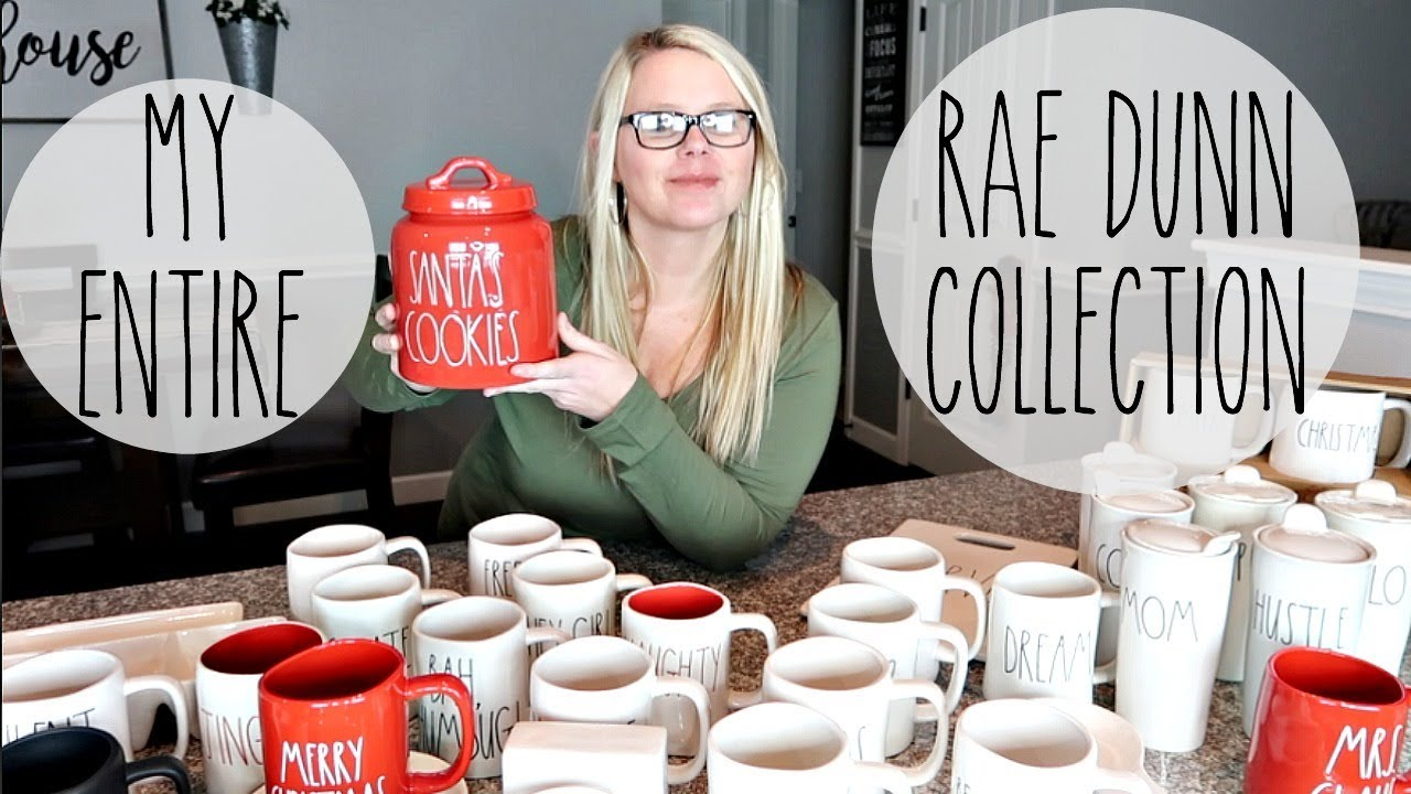 Rae Dunn Christmas 2020 Canister MY ENTIRE RAE DUNN COLLECTION // RAE DUNN CHRISTMAS FINDS 2018