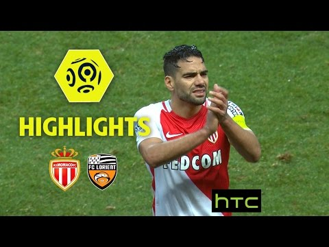 AS Monaco - FC Lorient (4-0) - Highlights - (ASM - FCL) / 2016-17