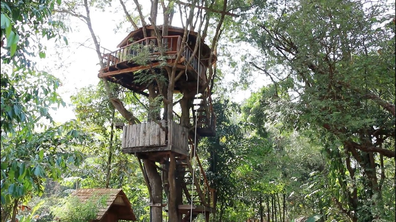 tamarind house chiang mai treehouse resort youtube - Most Expensive Tree House In The World