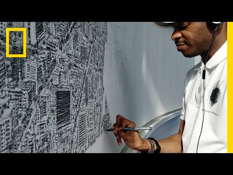 Could You Draw an Entire City From Memory? This Artist Can. | National Geographic