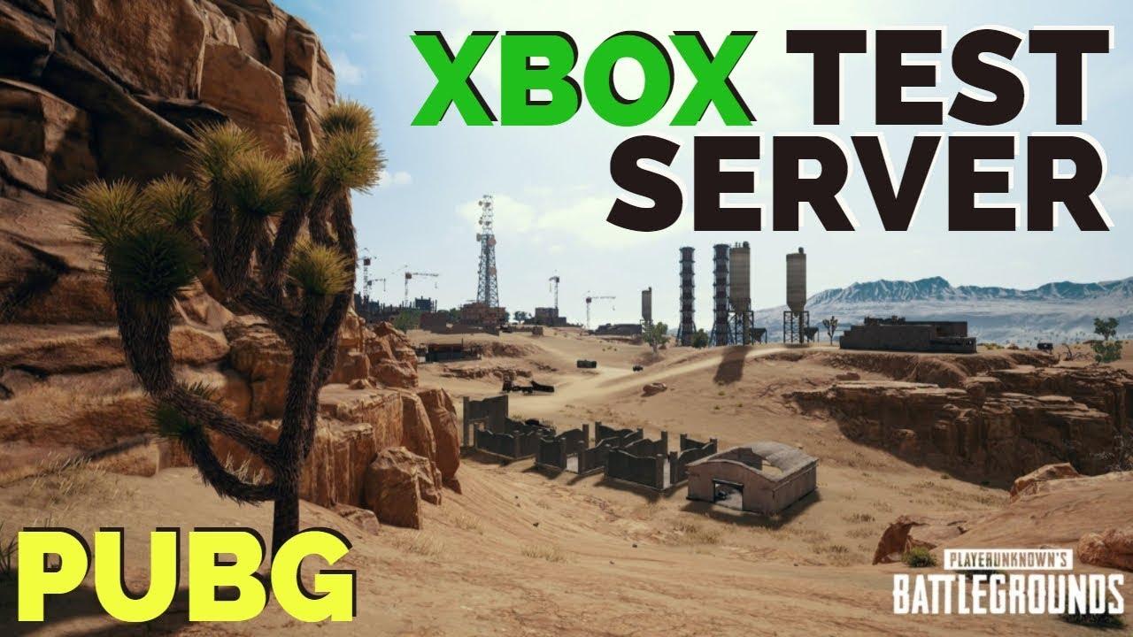 xbox one test server pubg