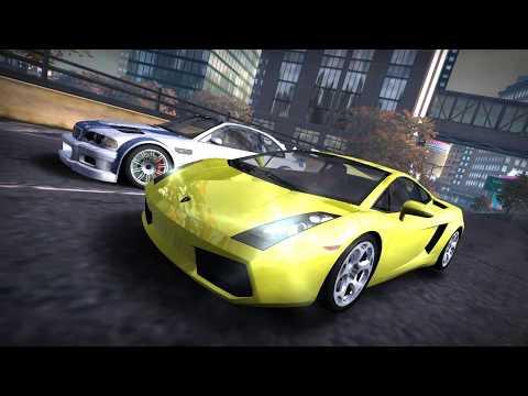NFS Most Wanted (2005) - Fully Upgraded Lamborghini Gallardo Vs Razor's BMW M3 GTR
