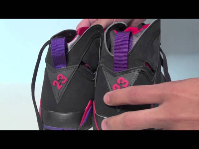 48e4b1b9587b 2012 Retro Air Jordan 7 (VII) Charcoal (Raptor) Download video - get video  youtube