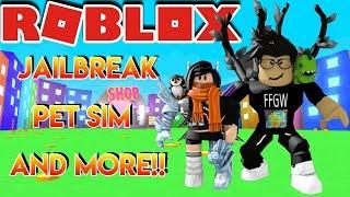 🌎🎮 Roblox - France 🔴 live Stream #136 JAILBREAK - PET SIM - ET PLUS!!! 🌎 🎮