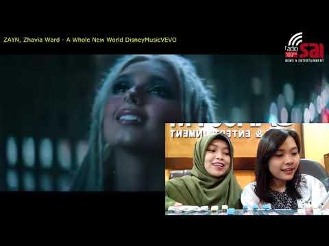 ZAYN, Zhavia Ward - A Whole New World (End Title) /  Video Reaction