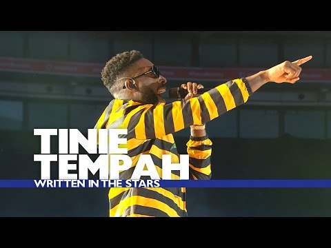 Tinie Tempah - ' Written In The Stars'...
