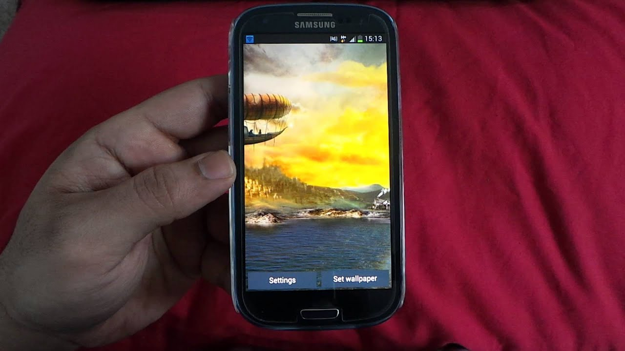 BEST ANDROID LIVE WALLPAPERS ON SAMSUNG GALAXY S3 GT I9300